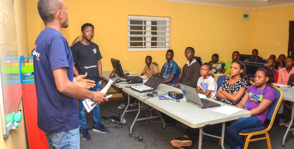 Kids & Teens Learn to Code at HICC, Lagos
